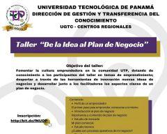 """Taller """"De la Idea al Plan de Negocio"""""""