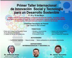 Primer taller internacional innovación social y tecnología para un desarrollo inclusivo y sostenible