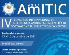IV Congreso Internacional en Inteligencia Ambiental, Ingeniería de Software, Salud Electrónica y Móvil