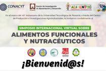 Simposio Internacional Virtual sobre Alimentos Funcionales y Nutracéuticos.