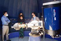 Embajador de Francia en Panamá visita el Observatorio Astronómico de Panamá.