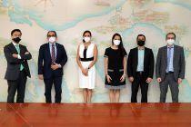 Embajador de Francia se reúne con autoridades de la UTP.