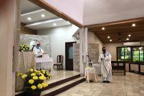 La Eucaristía se celebró en el Seminario Mayor San José.