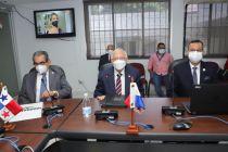 Rector de la UTP sustenta Presupuesto 2022 en la Asamblea Nacional de Diputados.