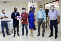 UTP entrega equipos a estudiantes en el Centro Regional de Veraguas.