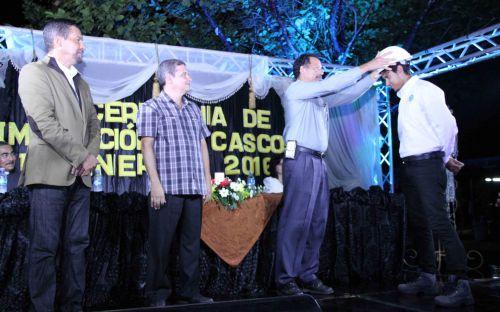 Imposición de Cascos Ingenieriles, en el Centro Regional de la UTP, en Veraguas.