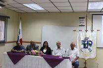 Autoridades de la Universidad Tecnológica de Panamá (UTP); presentes en la Divulgación de Resultados.
