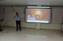 Ingeniero Robinsson Zapata por parte de SENACYT el cual presentaba la Plataforma ABC.