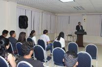 Licdo. Rodney González, Expositor de la Conferencia y Asistentes.