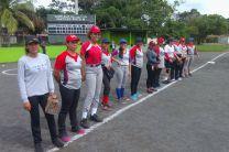 Equipo Softbol Femenino de Panamá Oeste.