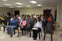 Docentes, Investigadores y Estudiantes participantes de la Capacitación.