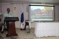 Ing. Urbano Alaín, Director del Centro, dirigió unas palabras a los asistentes.