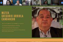conferencista Dr. Gregorio Urriola, Director Académico de Funiber en Panamá.