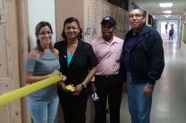 Ing. Yanet Gutiérrez, Lic. Pablo Moreno y el Dr. Israel Ruiz.