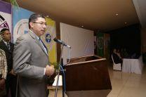 Dr. Martin Candanedo en la Conferencia Magistral Inaugural.