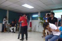 Los estudiantes realizaron una presentación muy especial