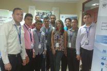 Estudiantes que desarrollan el Proyecto HECAS, en UTP-Azuero.