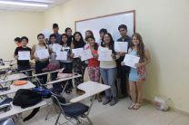 Estudiantes Graduandos del Curso de Inglés, en UTP - Azuero.