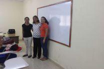 Licda. Rebeca Vergara (centro), junto a Miembros de AIESEC  UTP - Azuero.