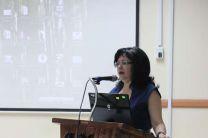 Dra. Casilda Saavedra, Vicerrectora de Investigación, Postgrado y Extensión.