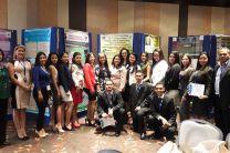 Estudiantes y Docentes Asesores de la UTP - Azuero en la Jornada Científica.