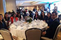 Estudiantes de la UTP - Azuero en la Fundación Deveaux.