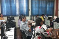 Docentes e Investigadores de diferentes Universidades del Área, estuvieron presentes.