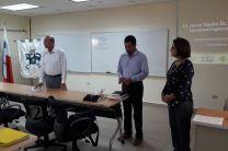 Ingeniero Oscar Pittí, Doctor Alexis Tejedor e Ingeniera Maritza Cedeño de Moreno.