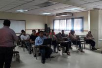 Docentes y estudiantes que participaron en la V Jornada de Investigación 2016.
