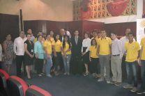 Estudiantes y Docentes de la UTP - Azuero participantes del Simposio.