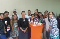 Estudiantes de la Carrera de Comunicación Ejecutiva Bilingue.