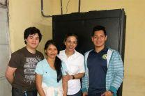 Estudiantes de la UTP Chiriquí realizan labor social especializada.