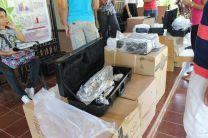 Sede Regional de Azuero de la UTP, recibe donación de instrumentos musicales.