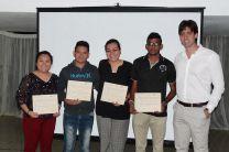 Estudiantes y Docentes del Centro Regional de Azuero en el Taller.