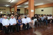 Autoridades y Comunidad Universitaria presentes en el Acto Festivo.