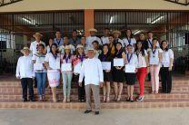 Se distinguió a Estudiantes Miembros del Capítulo de Honor.