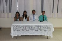 Estudiantes del Centro Regional de Azuero participantes del Concurso Interno de Oratoria.