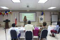 Participantes durante su Presentación ante el Jurado Calificador.