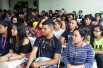 Estudiantes y profesores participantes.