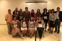 Científicas Panameñas que recibieron reconocimiento de APANAC en el Día Internacional de la Mujer.
