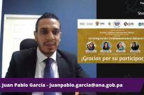Expositor invitado Dr. Juan Pablo García, por Panamá.