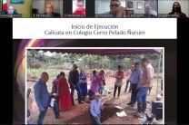 Proyecto en el Colegio Cerro Pelado Ñurum.