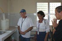 Visita de colaboradores de la UTP a la comunidad de Ipetí.