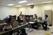 Estudiantes de TIC's.