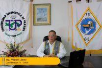 Mgtr. Miguel López, Coordinador principal del XXVII Congreso de la Facultad de Ingeniería Industrial