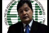 Mgter. Leandro Espinoza M., especialista en el tema de Ciberseguridad y docente de la FISC.