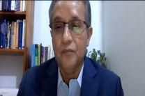 Mgtr. Isidro Ábrego Terrero, expositor de la jornada.