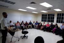 Expositor y participantes del Seminario Mindfulness
