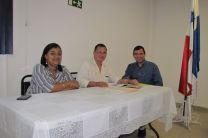 Ing. Yaneth Gutiérrez, Ing. Miguel López e Ing. Francisco Arango