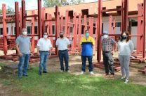 Involucrados del Centro Regional de Chiriquí en el Proyecto de la Red Acelerográfica Nacional, visitan al área de Construcción del Proyecto.